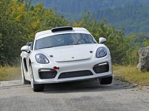 Porsche tantea terreno en el WRC con un 718 Cayman GT4 Clubsport
