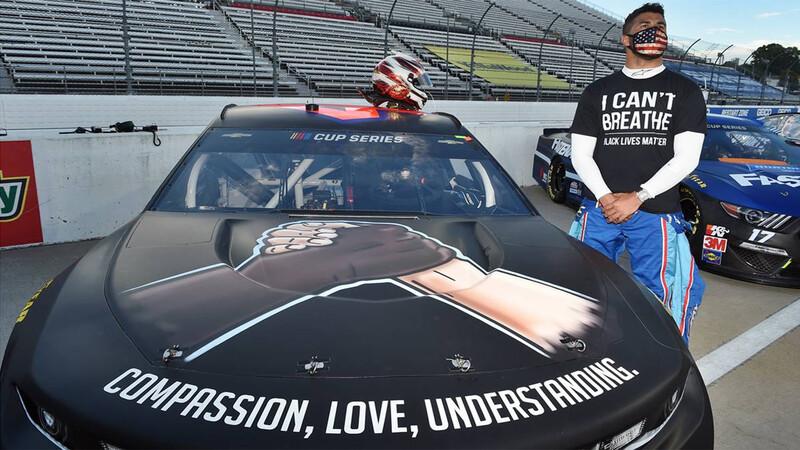 El piloto Bubba Wallace es víctima de un repudiable acto racista en NASCAR