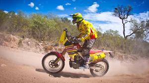 Daniel Gouet se despide del Dakar