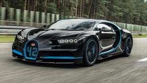 Así se filmó el récord de 0-400-0 del Bugatti Chiron que condujo J. P. Montoya en 2017