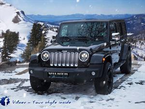 Jeep Wrangler Sahara, off-road de gala