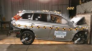 Mitsubishi Outlander PHEV 2020 recibe 5 estrellas en las pruebas de choque de la NHTSA