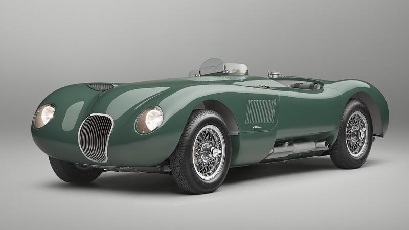 Jaguar tiene listo el primer C-Type Continuation, la recreación del legendario de auto de carreras