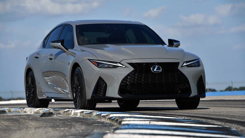 Lexus IS 500 F Sport Performance, inspiración para la pista