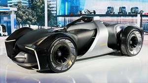 Toyota e-Racer es un auto de carreras eléctrico y muy futurista