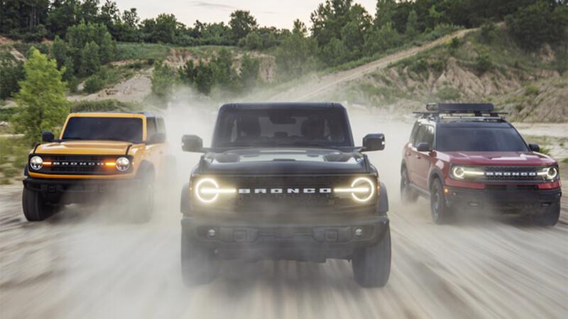 Ford Bronco confirmada para Argentina en 2021