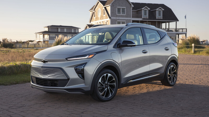 Chevrolet Bolt EUV 2022, el hermano SUV del Bolt EV