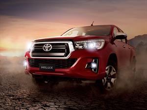 La Toyota Hilux presenta nueva cara en Argentina