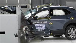 Mazda CX-30 es reconocida con el Top Safety Pick del IIHS