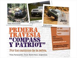 El Jeep Club Argentina convoca a los usuarios de Compass y Patriot para la aventura