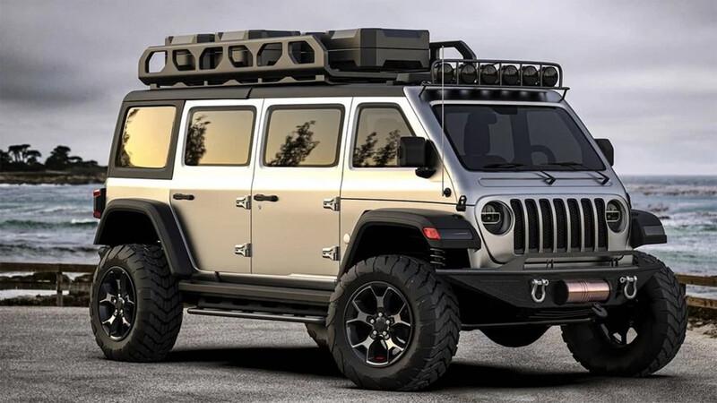 ¿Te imaginás un Jeep Wrangler, pero Van?