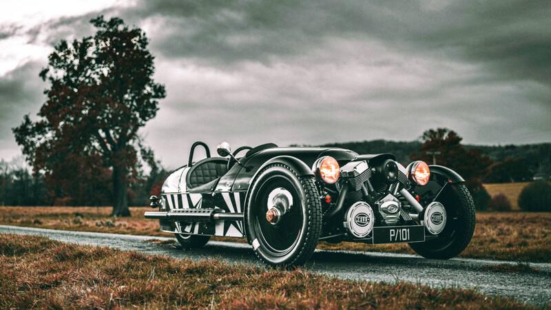 Morgan 3-Wheeler P101 Edition 2021, un espectacular final para un automóvil muy particular