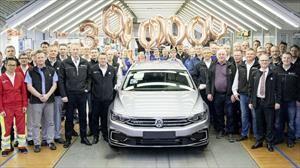 Volkswagen alcanza 30 millones de unidades producidas del Passat