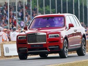 Goodwood 2018: Rolls-Royce Cullinan, un verdadero gentleman