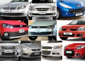 Top 10: Los autos más vendidos en Febrero 2012