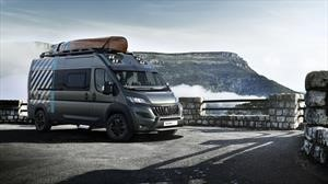 Peugeot Boxer 4x4 Concept, una van para irse