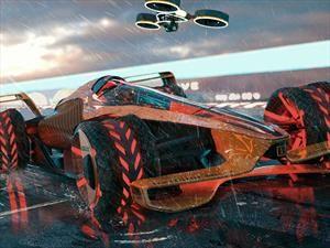 McLaren Future Grand Prix, así serían los F1 en 2050