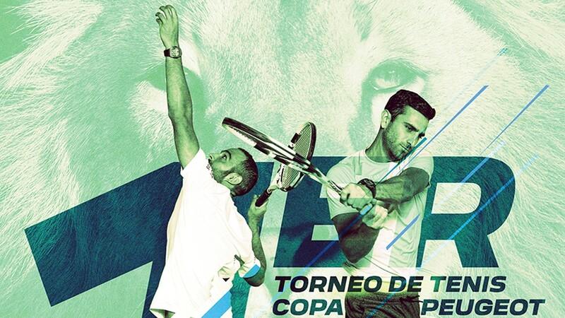 Primer torneo de tenis Copa Peugeot 2021