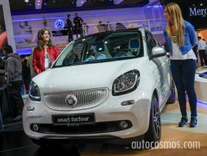 Nuevo smart forfour en el Salón de Buenos Aires