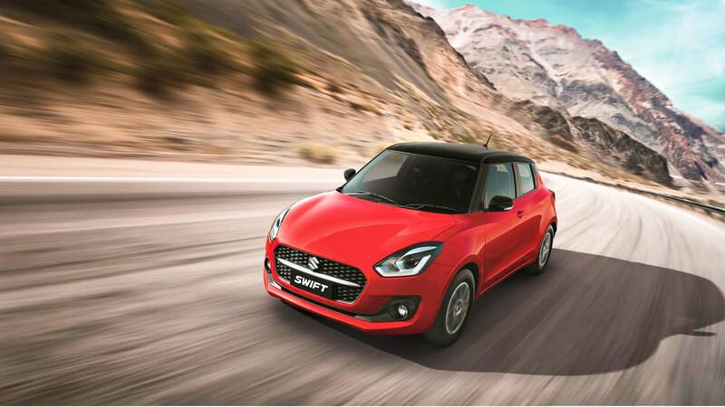 Suzuki actualiza el Swift indio y llegaría este año a Chile