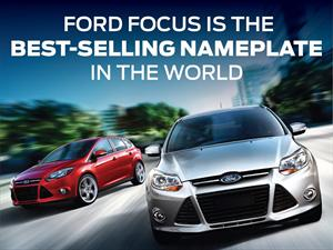 Ford Focus es el auto más vendido del mundo