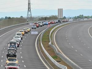 Guinness Récord del desfile de autos Ford más largo del mundo