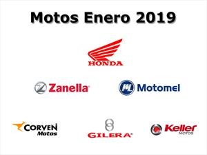 Top 10: Las marcas de motos que más vendieron en enero 2019