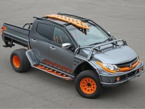 Esta Mitsubishi L200 se pone extrema para Fast & Furious