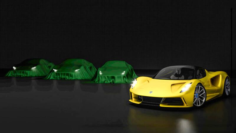 Lotus reemplazará sus modelos actuales