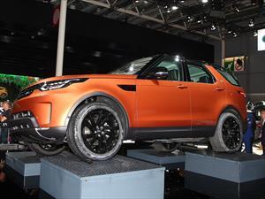 El nuevo Land Rover Discovery debuta en París