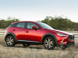 Mazda CX-3 calificado como Top Safety Pick+  por el IIHS