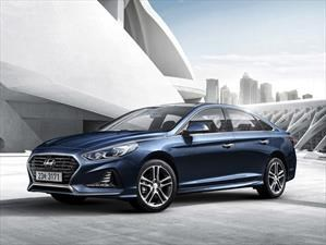 Hyundai Sonata 2018 recibe facelift