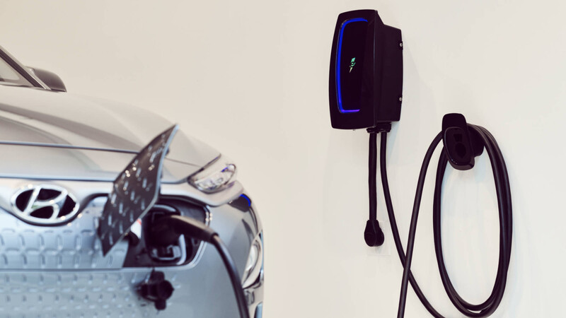 HomeStation es una moderna y avanzada estación de recarga para autos eléctricos