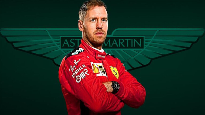Mientras Checo Pérez se despide, Vettel confirma su llegada a Aston Martin (Racing Point)