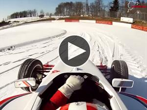 Video: Una vuelta al Nürburgring nevado