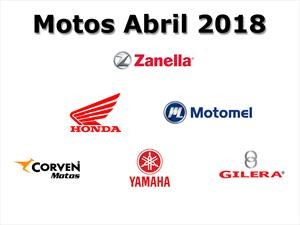 Top 10: Las marcas de motos que más vendieron en abril de 2018