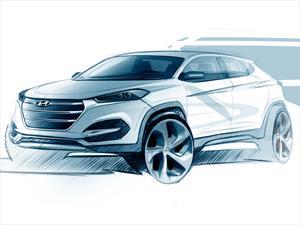 Presentan boceto del nuevo Hyundai Tucson