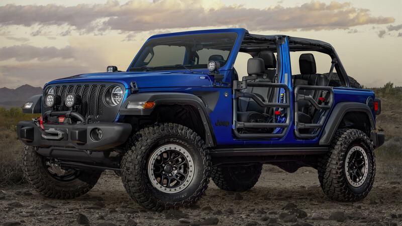 Jeep Wrangler 2021, el 4x4 por excelencia se actualiza para competir con el Ford Bronco