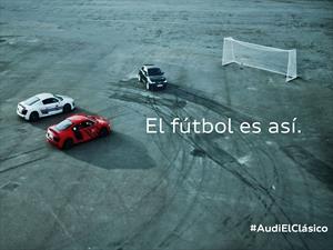 Clásico Barcelona-Real Madrid al estilo Audi