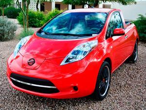 Conoce el Nissan Leaf convertido en pickup