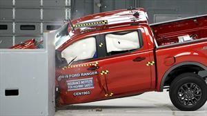 Ford Ranger 2019 tiene un buen desempeño en las pruebas de choque del IIHS