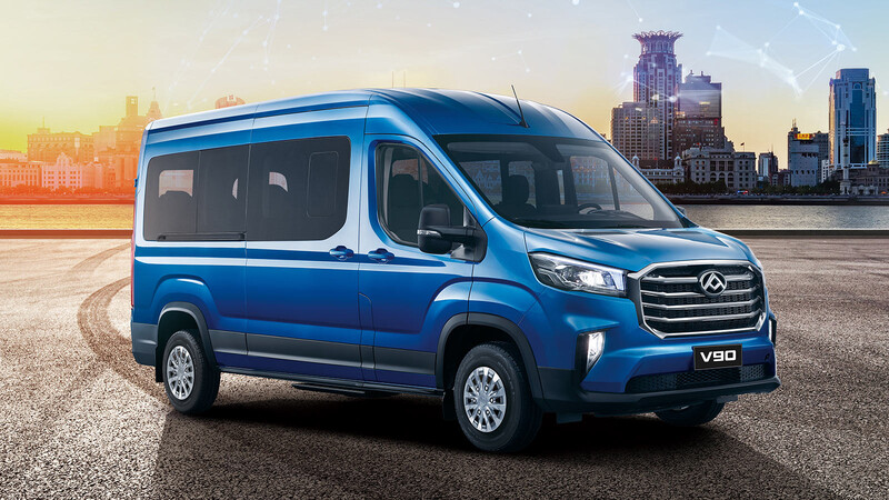 Maxus V90 2020 para ampliar su gama de minibuses