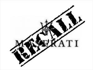 50 mil Maserati llamados a revisión