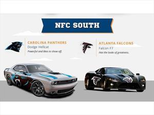 Equipos de la NFL transformados en autos