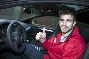 Audi consiente a los jugadores del FC Barcelona