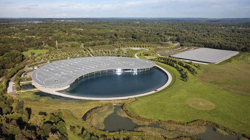 McLaren pone en venta sus oficinas centrales en Surrey, Inglaterra