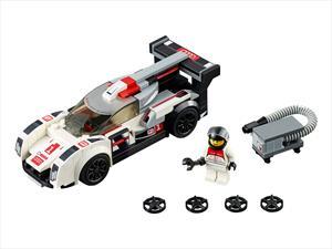 Audi presenta kits de Lego para el R18 e-tron quattro y el R8 LMS
