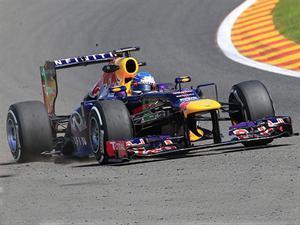 F1, GP de Bélgica, Vettel sigue ganando