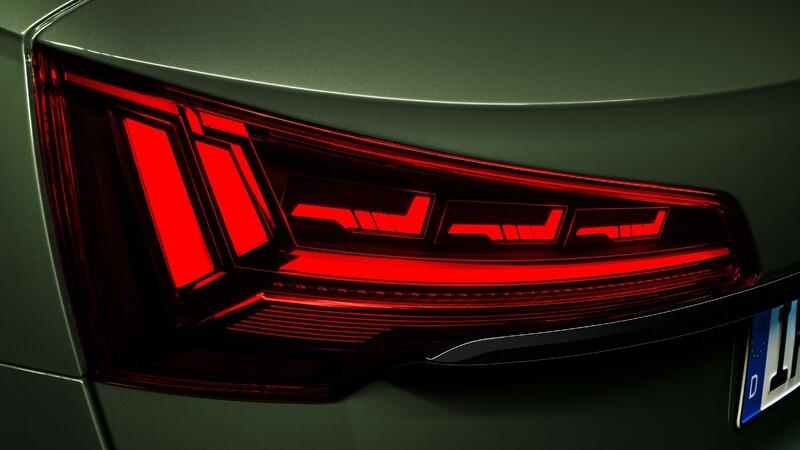 Todo sobre las nuevas luces con tecnología OLED digital de Audi