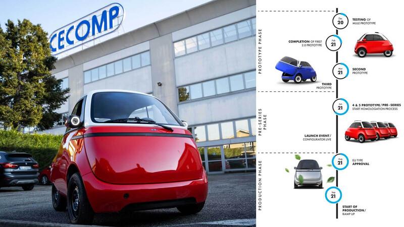 Microlino 2.0, el Isetta regresa como un auto 100% eléctrico